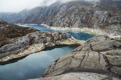 утес горы Стоковое Фото