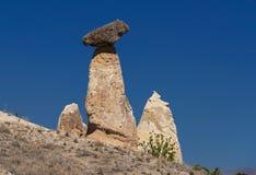 Утес гриба в Cappadocia, Турции Стоковые Изображения RF