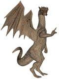 утес дракона иллюстрация вектора
