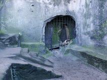 Утес замка Стоковая Фотография RF