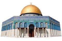 утес Иерусалима купола стоковые изображения