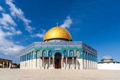утес Израиля Иерусалима купола стоковое изображение