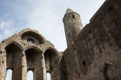 утес Ирландии cashel Стоковое Изображение RF