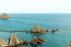 Утес и море Стоковое фото RF