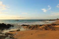 Утес и океан Стоковые Фотографии RF