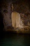Утес как медуза в пещере Стоковое Изображение