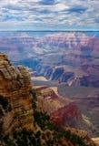 утес каньона грандиозный Стоковая Фотография
