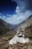 утес каньона Стоковое Фото