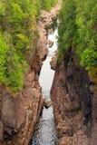 утес каньона Стоковые Изображения