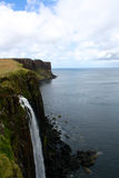 Утес килта на острове Skye, Шотландии Стоковое Фото