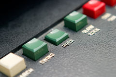 утес кнопки ретро Стоковые Изображения RF