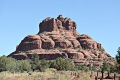 Утес колокола в Sedona, Аризоне, США стоковое изображение rf