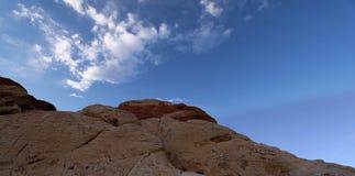 утес красного цвета каньона Стоковая Фотография RF