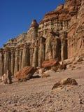 утес красного цвета каньона Стоковые Изображения RF
