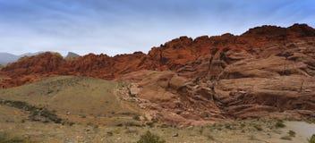 утес красного цвета парка Невады Стоковое Фото