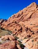 утес красного цвета парка Невады каньона национальный Стоковые Изображения RF