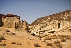 утес красного цвета скал каньона Стоковое фото RF