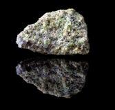 Утес минерала оливина Стоковое Изображение RF