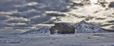 Утес на айсберге Стоковое фото RF