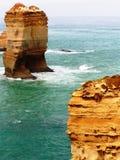 утес образований Австралии Стоковое Изображение RF