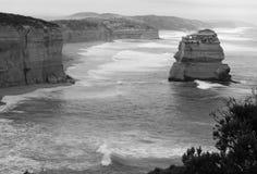 утес образований Австралии Стоковые Фотографии RF
