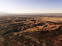 утес образований пустыни Стоковые Фотографии RF