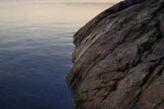 утес океана стоковое изображение