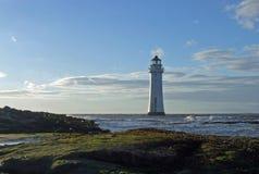 утес окуня маяка Стоковое Фото