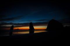 утес Орегона haystack Стоковые Изображения
