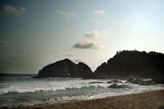 утес островов Стоковое Фото