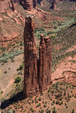 Утес паука на национальном монументе Каньона de Chelly Стоковая Фотография RF