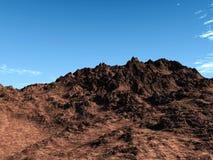 утес пустыни Стоковое Изображение RF
