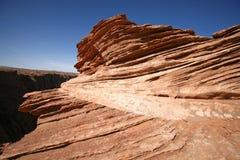 утес распадка образований каньона Стоковые Фото
