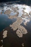 утес реки Стоковое Изображение
