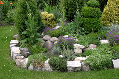утес сада Стоковая Фотография RF