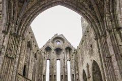 Утес собора Cashel - Ирландии Стоковые Изображения RF