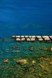 Утес творога фасоли в Yehliu Geopark Стоковая Фотография