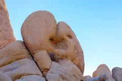 Утес формы сердца стоковое изображение