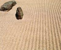 утес японца сада Стоковые Фото