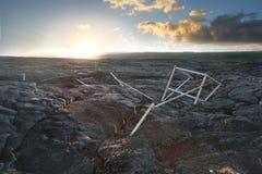 утес 2 ландшафтов вулканический Стоковые Изображения RF