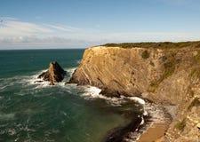 утес Atlantic Ocean Стоковое фото RF