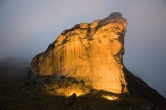 Утес Brandwacht в национальном парке золотого строба стоковое изображение