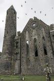 Утес Cashel - графство Tipperary - Ирландская Республика Стоковое Изображение RF