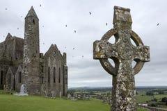 Утес Cashel - графство Tipperary - Ирландская Республика Стоковые Изображения RF