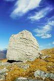 Утес Characterful на шотландском перевале Стоковые Фото