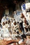 утес dazu carvings стоковые фотографии rf