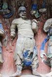 утес dazu carvings стоковые изображения