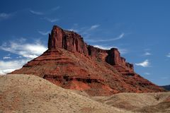 утес moab кафа трудный Стоковое Фото