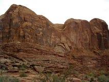 Утес Moab сликовый Стоковые Фотографии RF