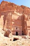 утес petra Иордана города потерянный Стоковые Изображения